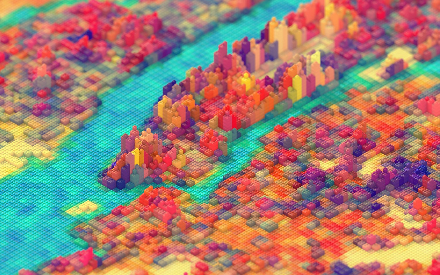 Legos for Cool stuff to do in nyc