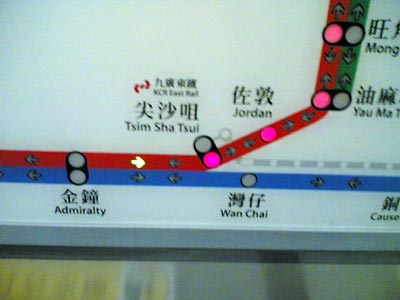 MTR map
