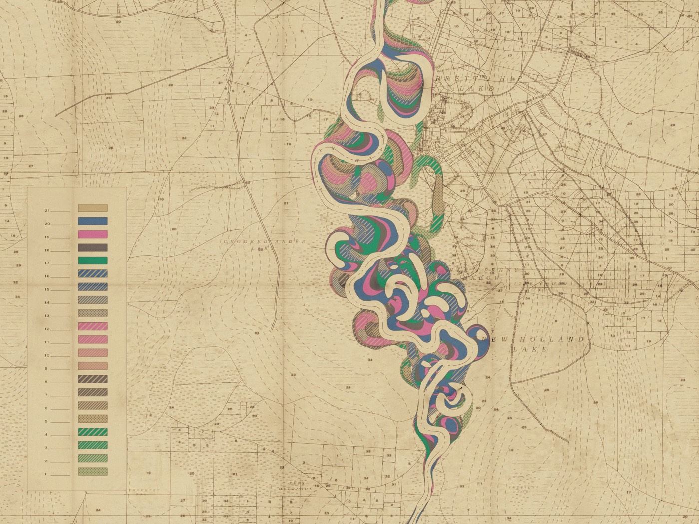 Robert Hodgin Meander Maps
