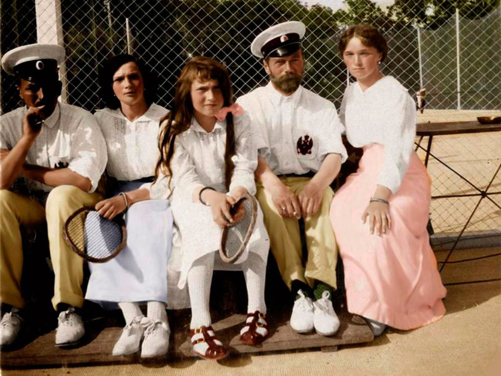 Romanovs In Color