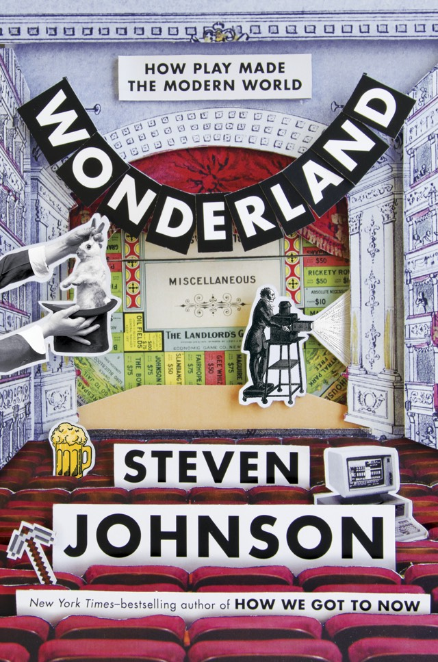 Wonderland, Steven Johnson